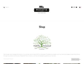 half-pinthomestead.com screenshot