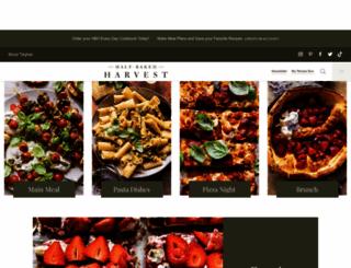 halfbakedharvest.com screenshot