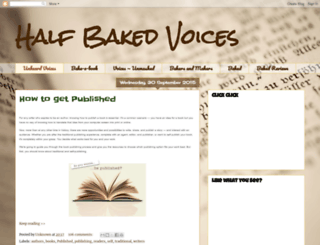 halfbakedvoices.blogspot.com screenshot
