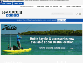 halfhitch.com screenshot