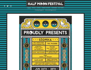 halfmoonfest.com screenshot