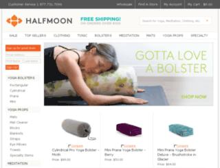 halfmoonyogaprops.com screenshot