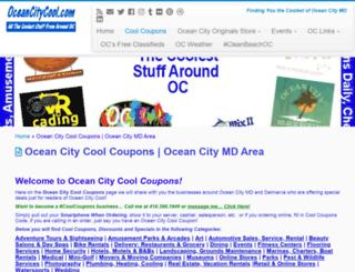 halfoffdeals.oceancitycool.com screenshot