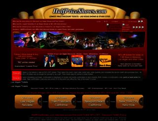 halfpriceshows.com screenshot