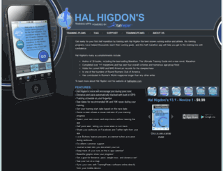 halhigdon.bluefinapps.com screenshot