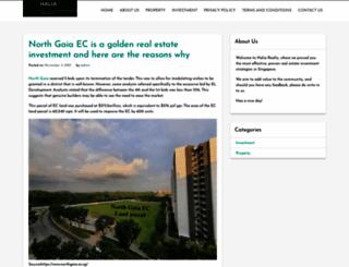 halia.com.sg screenshot