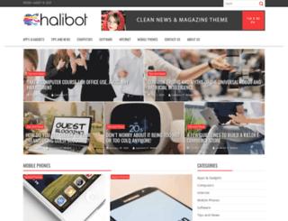 halibot.com screenshot