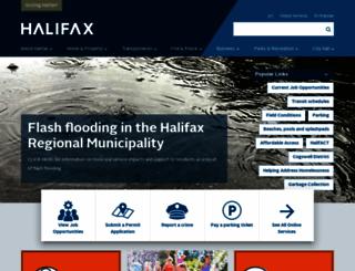 halifax.ca screenshot