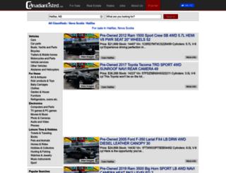 halifax.canadianlisted.com screenshot
