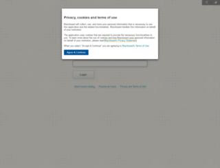 halifaxcc.blackboard.com screenshot