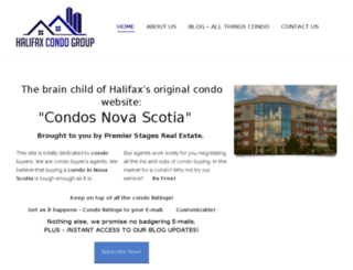halifaxcondogroup.com screenshot