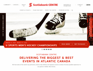 halifaxmetrocentre.com screenshot