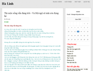 halinh.vnweblogs.com screenshot