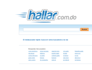 hallar.com.do screenshot