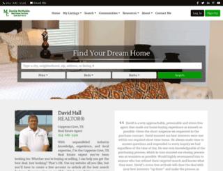 halldavid.com screenshot
