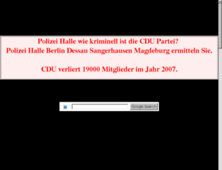 halle-online.net.tf screenshot