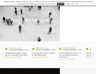 halleymedia.it screenshot