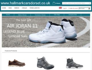 hallmarkcarsdorset.co.uk screenshot