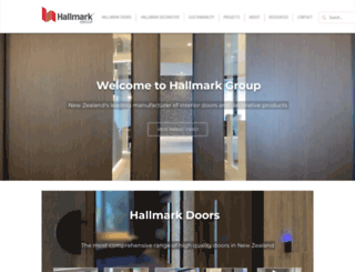 hallmarkgroup.co.nz screenshot