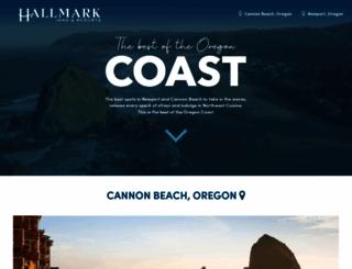 hallmarkinns.com screenshot