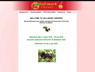 hallmarkorchards.com.au screenshot