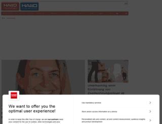 hallo-verlag.de screenshot