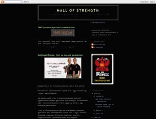 hallofstrength.blogspot.com screenshot