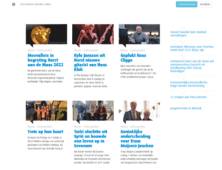 hallohorstaandemaas.nl screenshot