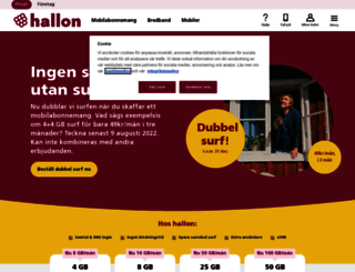 hallon.se screenshot
