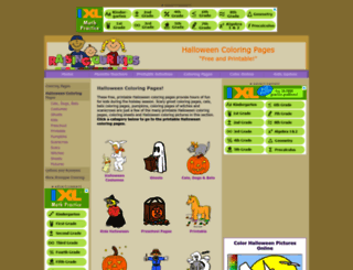 halloween-coloring.com screenshot