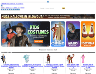 halloween-mall.com screenshot