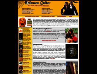 halloween-online.com screenshot