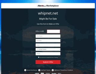 halloween.whipnet.net screenshot