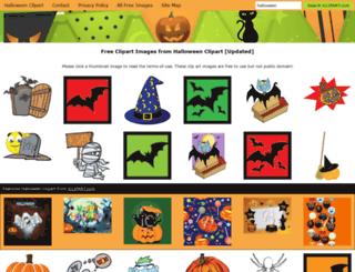 halloweenclipart.com screenshot