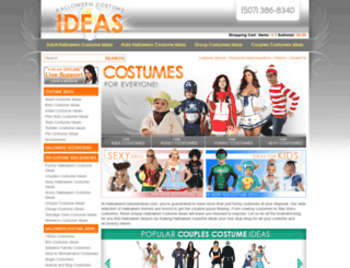 halloweencostumeideas.com screenshot