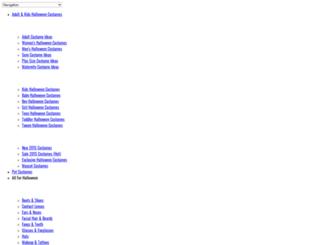 halloweencostumesmax.com screenshot