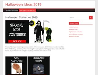 halloweenideas.ca screenshot