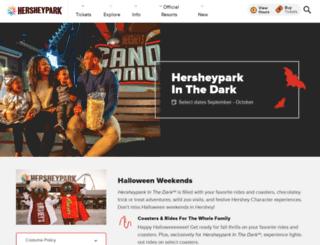 halloweeninhershey.com screenshot