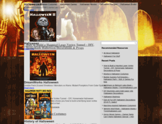 halloweenpartytreats.com screenshot