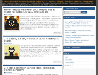 halloweenpumpkindesigns.com screenshot