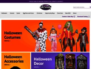 halloweenworld.com screenshot