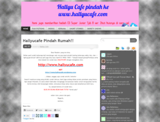 hallyucafe.wordpress.com screenshot