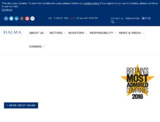 halma.com screenshot
