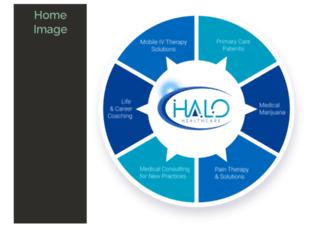 halo-healthcare.com screenshot