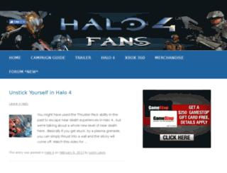 halo4.org screenshot