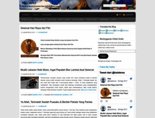 halobro.wordpress.com screenshot