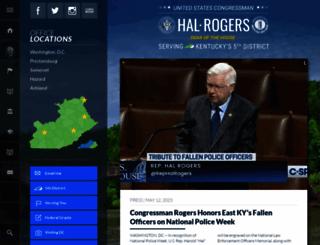 halrogers.house.gov screenshot