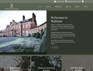 halstonestate.co.uk screenshot