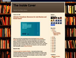 haltomcitylibrary.blogspot.com screenshot