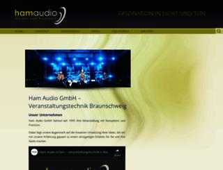 ham-audio.com screenshot